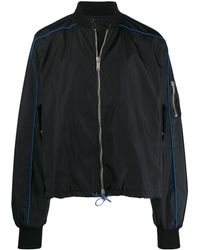 Unravel Project - Drawstring Bomber Jacket - Lyst