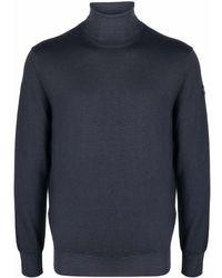 Paul & Shark タートルネック セーター - ブルー