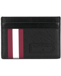 Bally Stripe Detail Cardholder - Черный