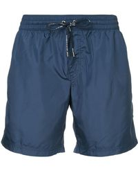 Dolce & Gabbana - Drawstring Fitted Swim-shorts - Lyst