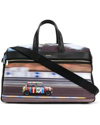 Paul Smith Racing Mini Weekend Holdall - Black