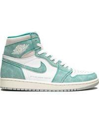 Nike Высокие Кроссовки Air 1 Retro High Og - Зеленый
