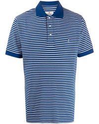 Vivienne Westwood ロゴ ポロシャツ - ブルー