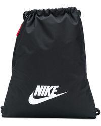 Nike Rugzak Met Trekkoord - Zwart