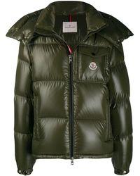 ea749e048 Shiny Padded Jacket - Green
