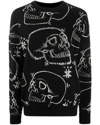 Philipp Plein Джемпер С Декором Skull - Черный