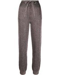 Missoni Pantalones de punto con cordones - Gris