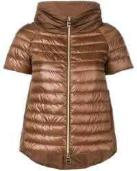 Herno - Fitted Padded Jacket - Lyst
