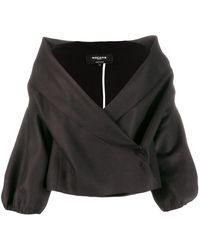 Rochas ラップジャケット - ブラック
