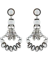 DANNIJO - Ajax Circular Pendant Earrings - Lyst