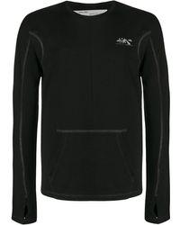 Off-White c/o Virgil Abloh Arrows ロングtシャツ - ブラック