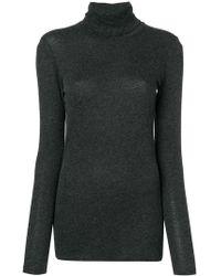 Majestic Filatures - Fine Knit Turtleneck Sweater - Lyst