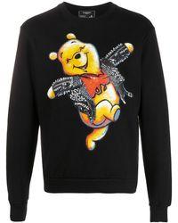 DOMREBEL Winnie The Pooh スウェットシャツ - ブラック