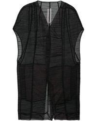 Rick Owens Mantelette ジャケット - ブラック