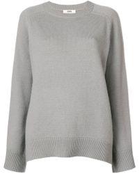 SMINFINITY - Ribbed Crew Neck Sweater - Lyst