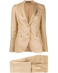 Tagliatore Two-piece Formal Suit - Natural