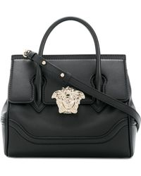 Versace Small Empire Palazzo Tote Bag - Black