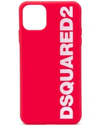 DSquared² Iphone 11 Pro Max Hoesje - Rood