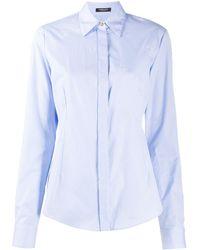 Versace - Camicia con ricamo - Lyst