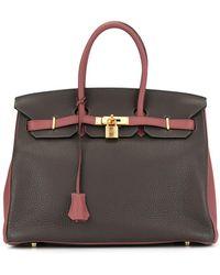 Hermès Сумка Birkin 35 Pre-owned - Серый