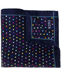 Fefe - Polka Dot Print Scarf - Lyst
