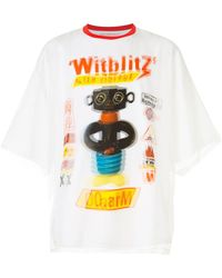 Walter Van Beirendonck O-arm Printed Double T-shirt - Multicolor