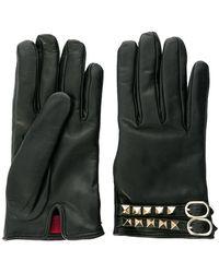 Valentino - Garavani Rockstud Gloves - Lyst