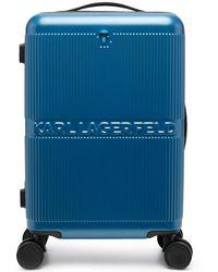 Karl Lagerfeld K/ikonik スーツケース - ブルー