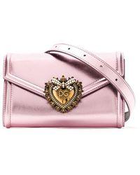 Dolce & Gabbana Devotion ベルトバッグ - ピンク