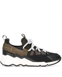 Pierre Hardy Trek Comet Sneakers - Gray