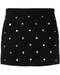 RED Valentino - Crystal Studded Skort - Lyst