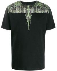 Marcelo Burlon プリント Tシャツ - ブラック
