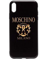 Moschino - Milano Logo Iphone Xs Case - Lyst