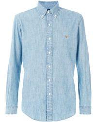 Polo Ralph Lauren Button-down Chambray Shirt - Blue
