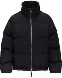 Aztech Mountain Panda Puffer Jacket - Black