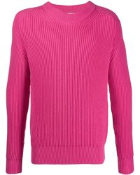 AMI - Pull Col Rond Manches Marteaux - Lyst