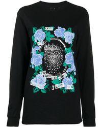 Richard Quinn グラフィック ロングtシャツ - ブラック