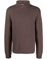 Filippa K Roll-neck Knit Sweater - Brown