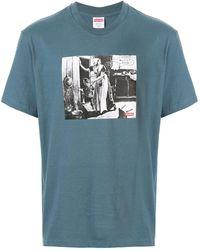 Supreme Mike Kelley Tシャツ - ブルー