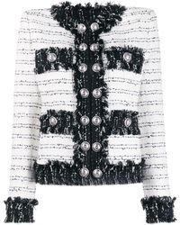 Balmain Tweed Jack - Zwart