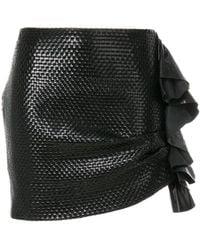 Magda Butrym - Ruffled Mini Skirt - Lyst