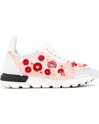 NO KA 'OI - Button Embellished Sneakers - Lyst