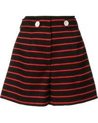 Proenza Schouler Striped Shorts - Black