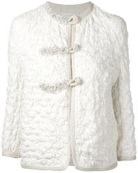 Ermanno Scervino - Textured Jacket - Lyst