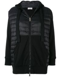 Moncler - Padded Front Hoodie - Lyst