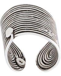 Gas Bijoux - 'wave' Ring - Lyst