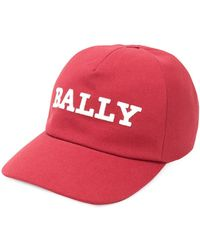 Bally Baseball Logo Cap - Rood