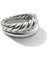 David Yurman - Pure Form スタックリング - Lyst