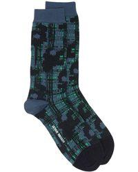 Henrik Vibskov Abstract-pattern Socks - Black