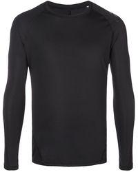 adidas ロングtシャツ - ブラック